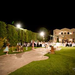 Κτήμα Ιγγλέση The courtyard. Δεξίωση γάμου στο κτήμα